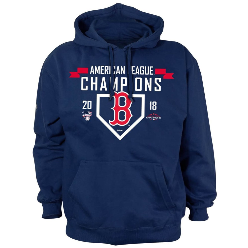 BOSTON RED SOX Men's 2018 ALCS Champions Pullover Hoodie - NAVY
