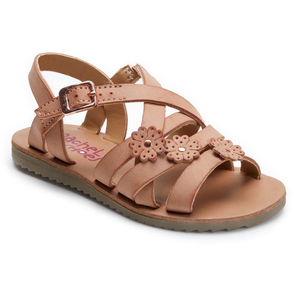 Rachel Shoes Toddler Girls' Lil Aubrey Sandal - Red, 6