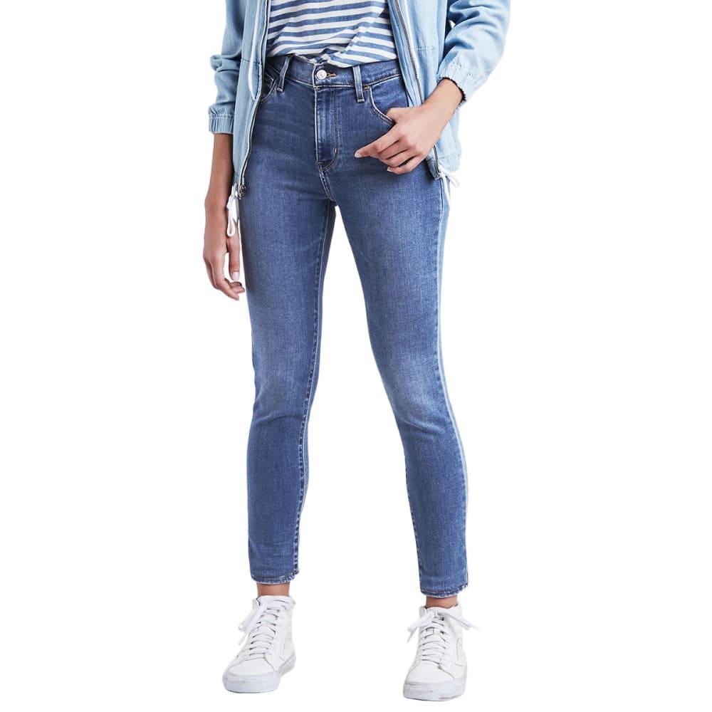 LEVI'S Women's 720 High Rise Super Skinny Jeans - BLUE BIRD 0009