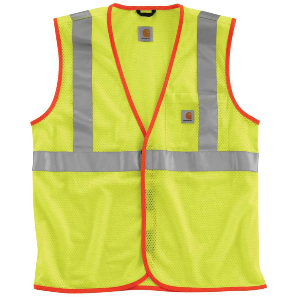 Carhartt Men's High Visibility Class 2 Vest - Green, M