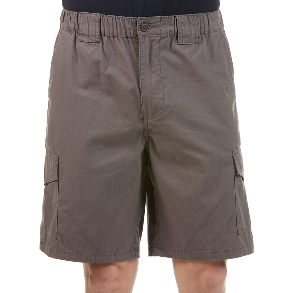RUGGED TRAILS Men's Canvas Cargo Shorts 32