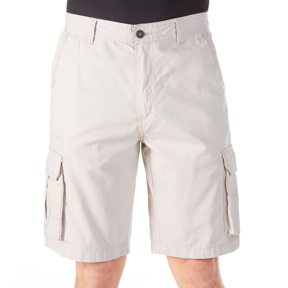 RUGGED TRAILS Men's Ripstop Cargo Shorts 32
