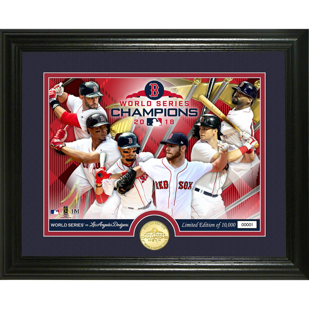 BOSTON RED SOX 2018 World Series Champions Team Force Bronze Coin Photo Mint - NO COLOR