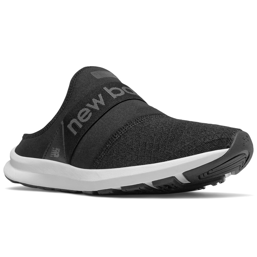 New Balance Women's Fuelcore Nergize Mule Sneaker - Black, 6.5