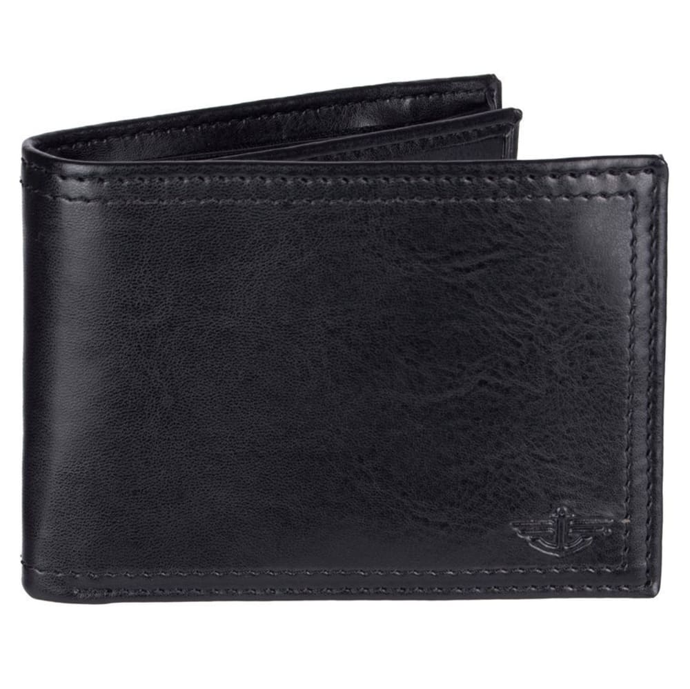 DOCKERS Men's Slimfold Wallet - BLACK