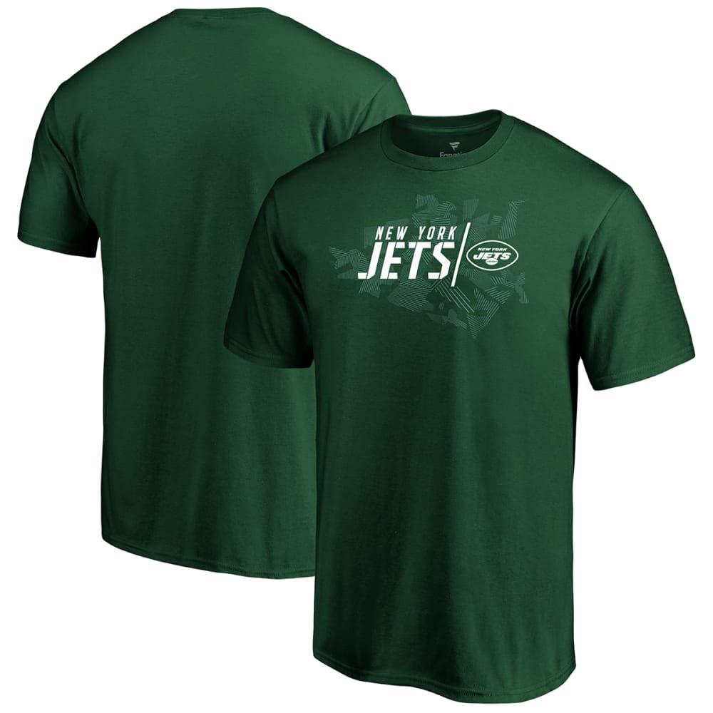 NEW YORK JETS Men's Geo Drift Short-Sleeve Tee M