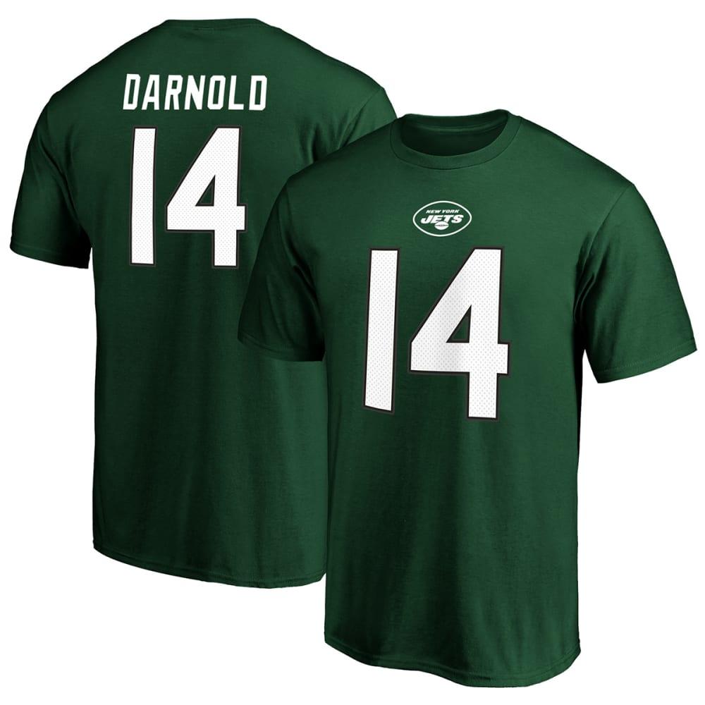 NEW YORK JETS Men's Sam Darnold NFL Name & Number Short-Sleeve Tee M