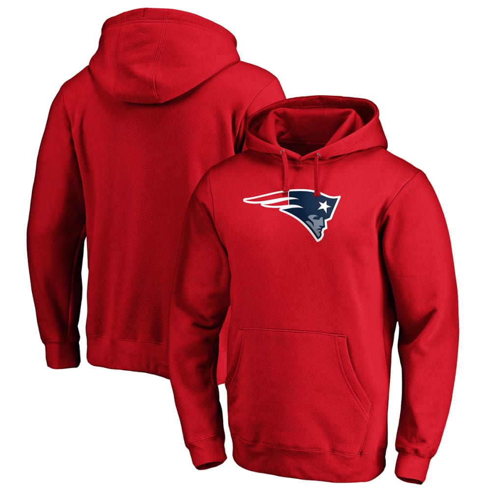 NEW ENGLAND PATRIOTS Men's Primary Logo Pullover Hoodie M
