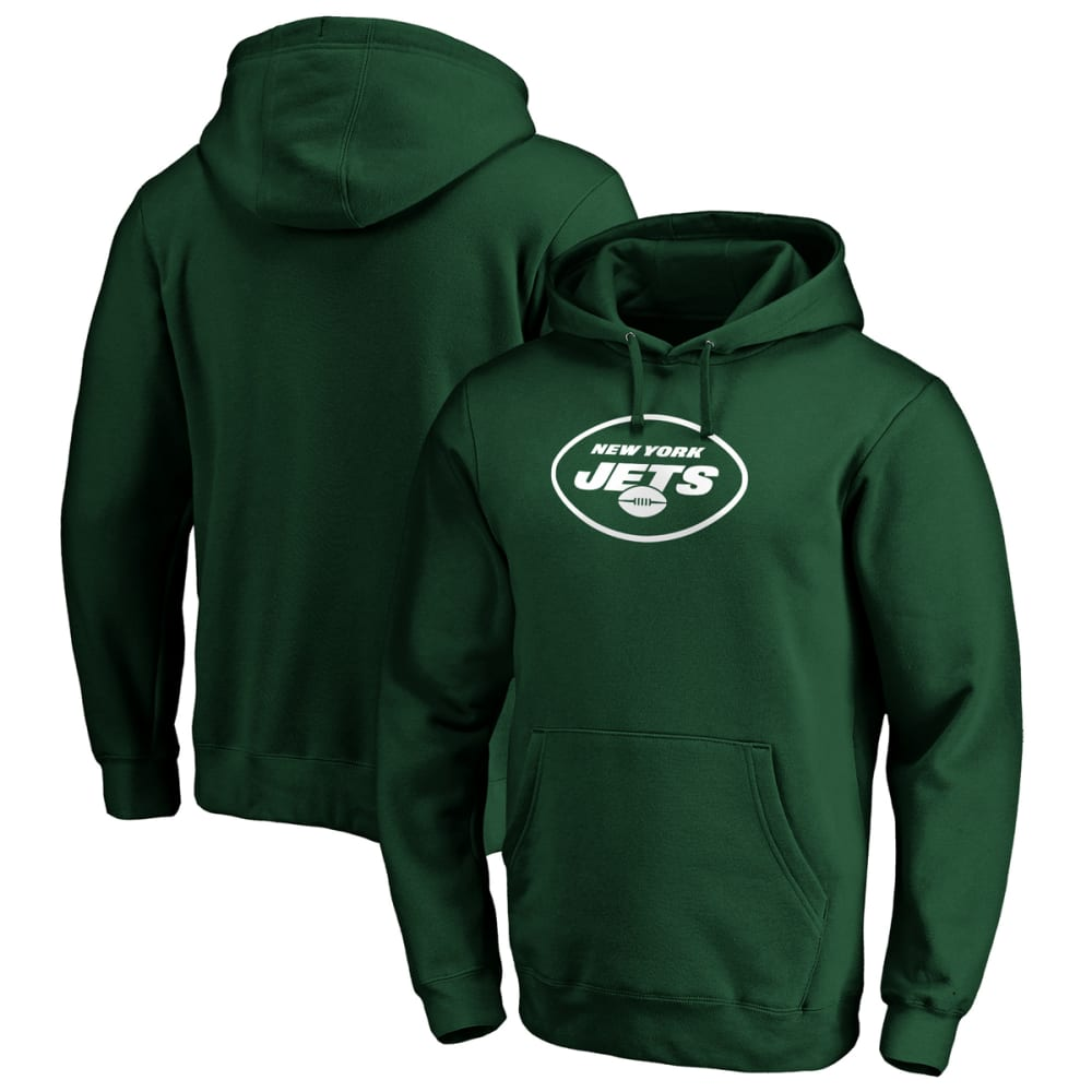 NEW YORK JETS Men's Primary Logo Pullover Hoodie L
