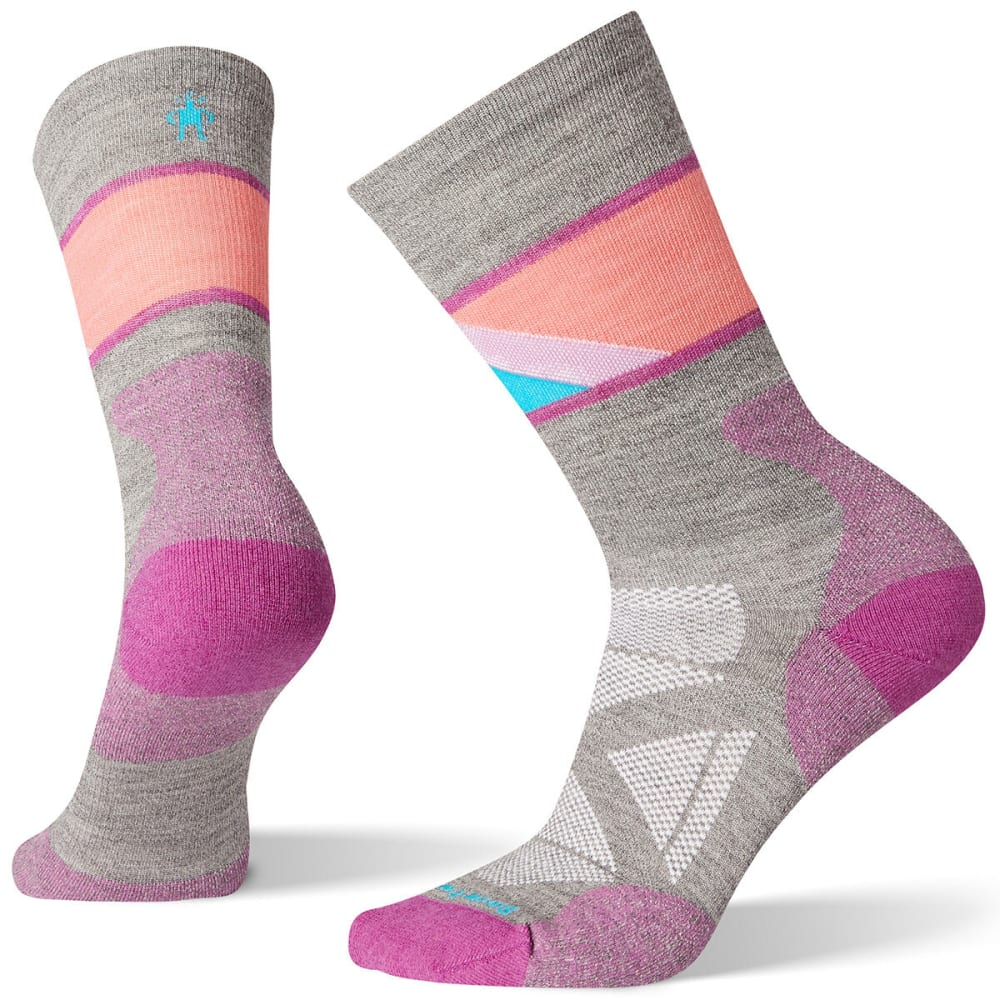SMARTWOOL Women's PhD Pro Approach Crew Socks M