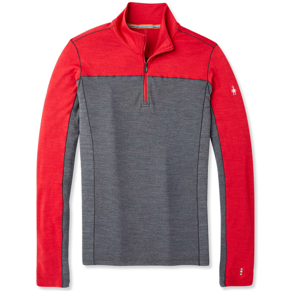 SMARTWOOL Men's Merino Sport 250 Long-Sleeve 1/4-Zip Pullover S