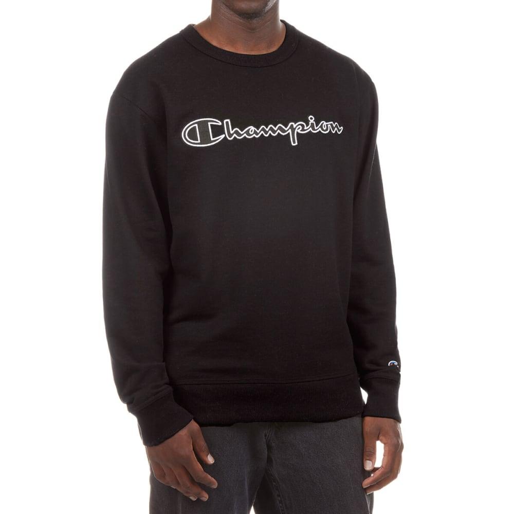 CHAMPION Men's Graphic Powerblend Fleece Crewneck S