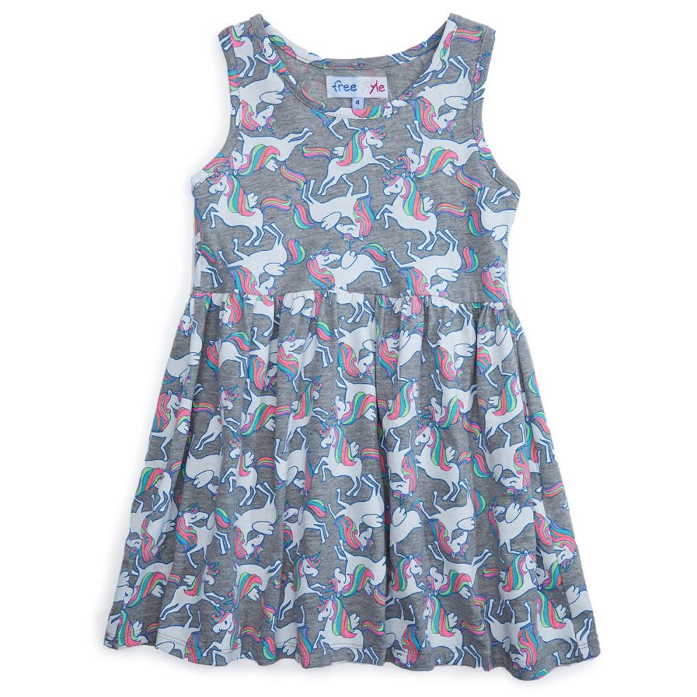 FREESTYLE Girls' Sleeveless Dress - MAGIC