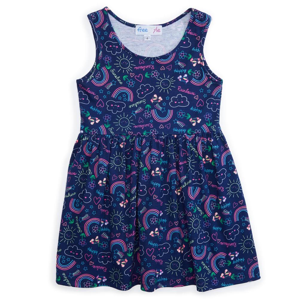 FREESTYLE Girls' Sleeveless Dress - SUNSHINE