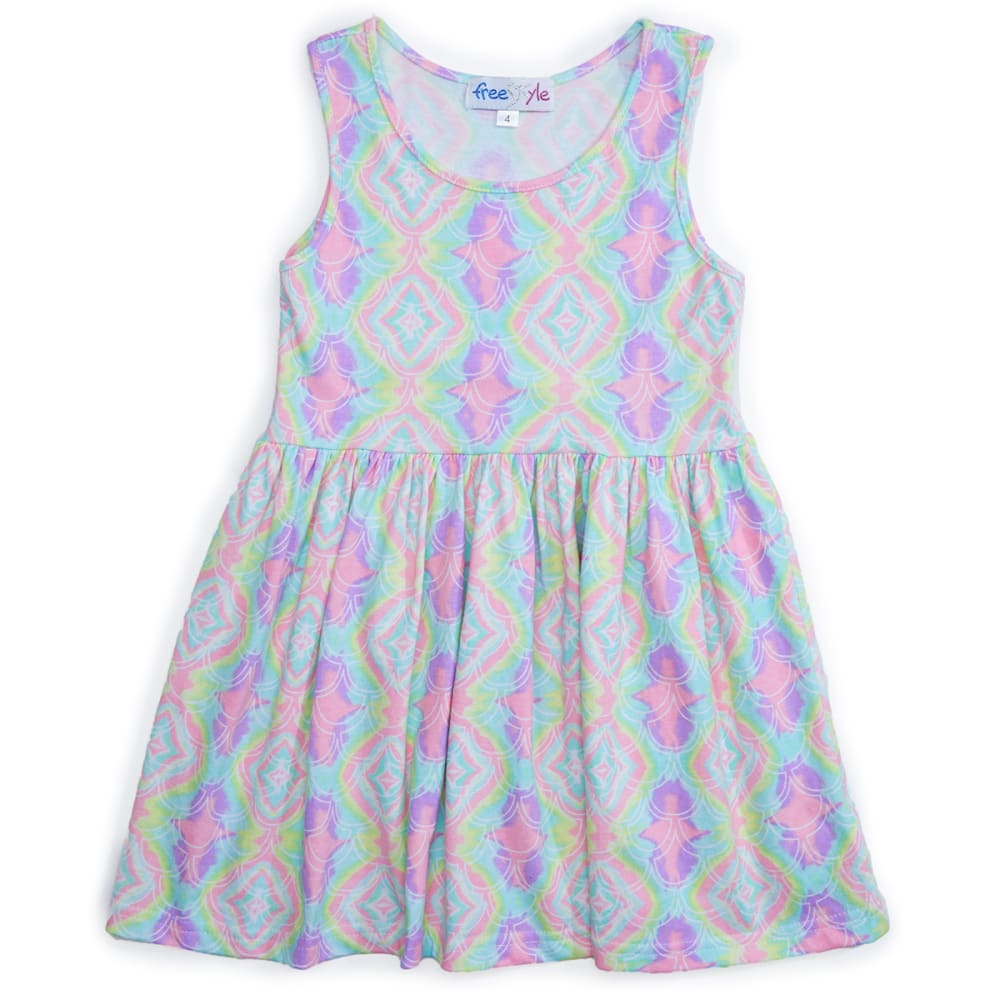 FREESTYLE Girls' Sleeveless Dress - MERMAAING