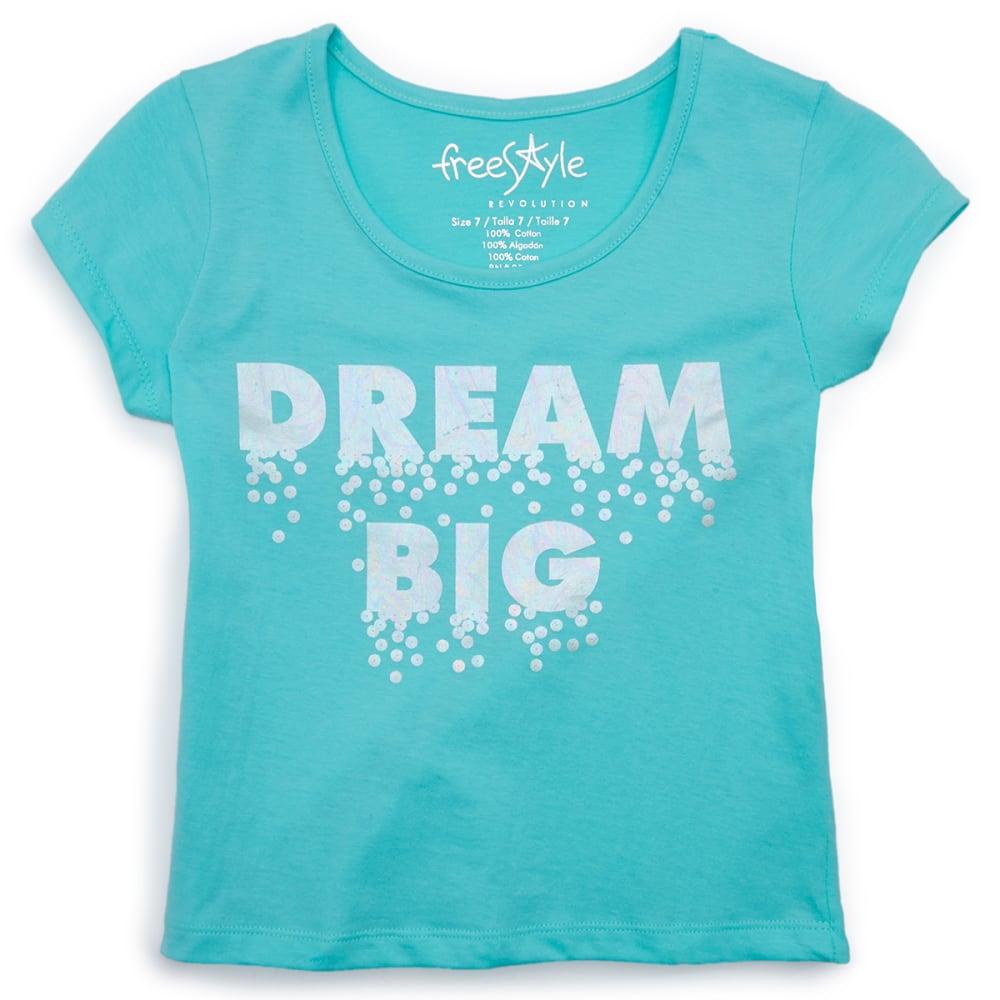 FREESTYLE Girls' Dream Big Tee 7