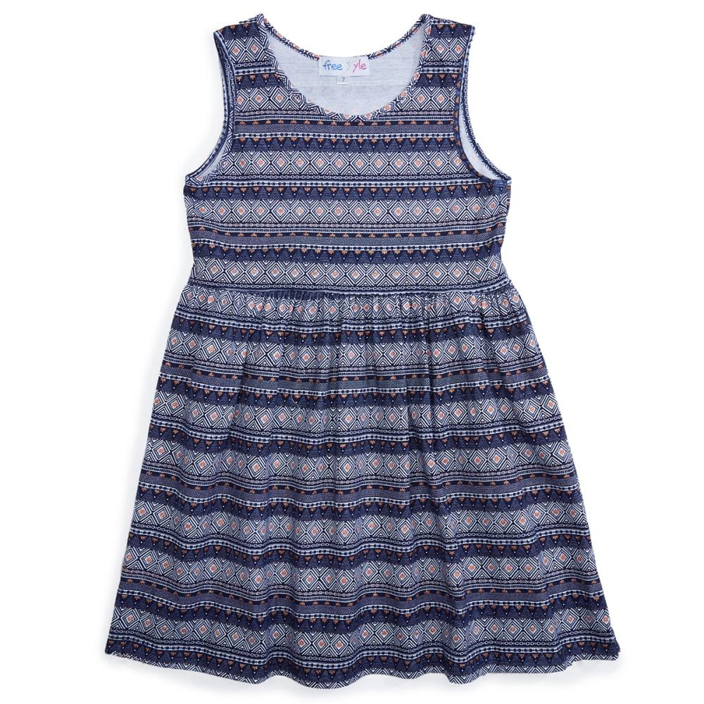 FREESTYLE Girls' 7-16 Sleeveless Dress - TRIBAL SUMMER