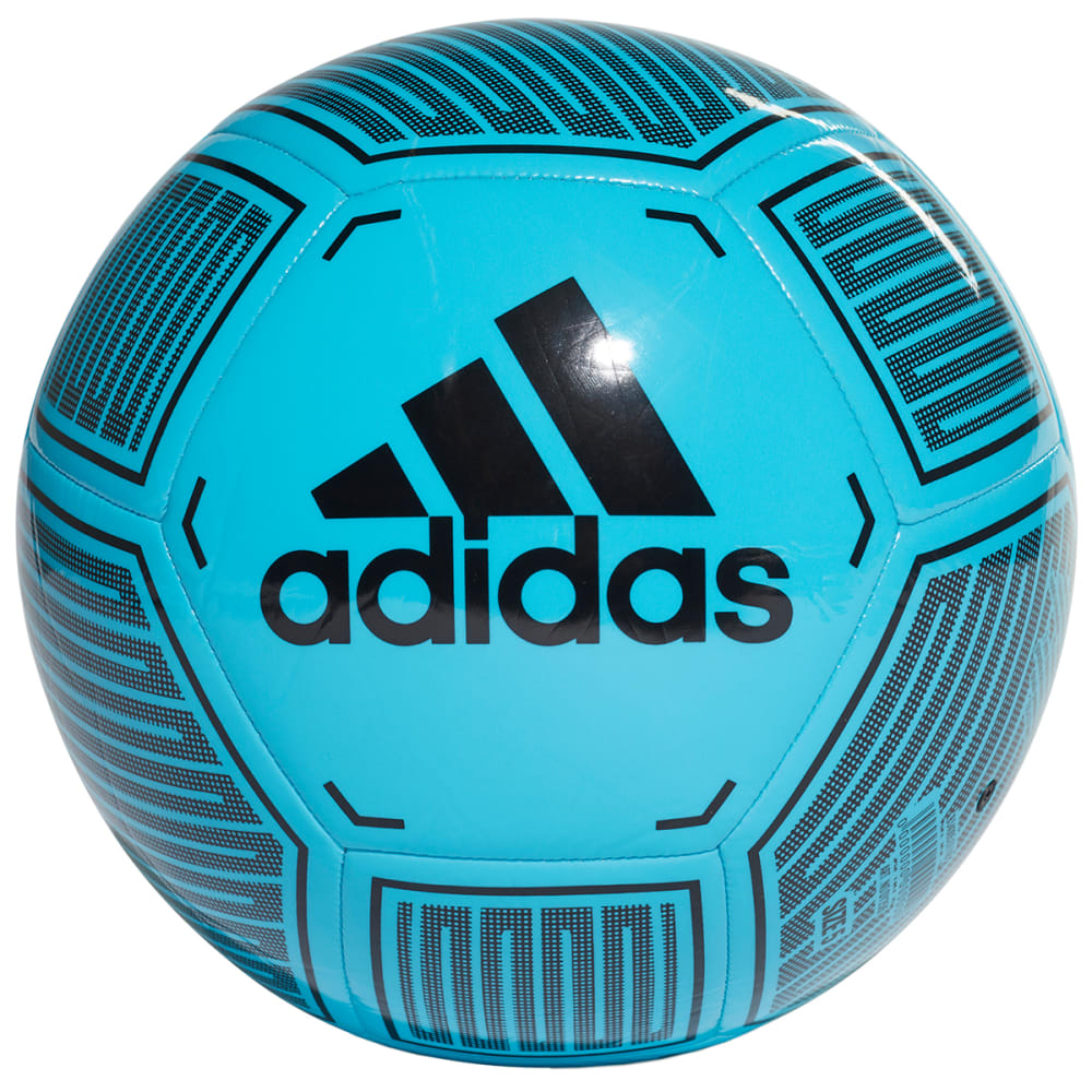 Adidas Starlancer 6 Soccer Ball - Blue, 3