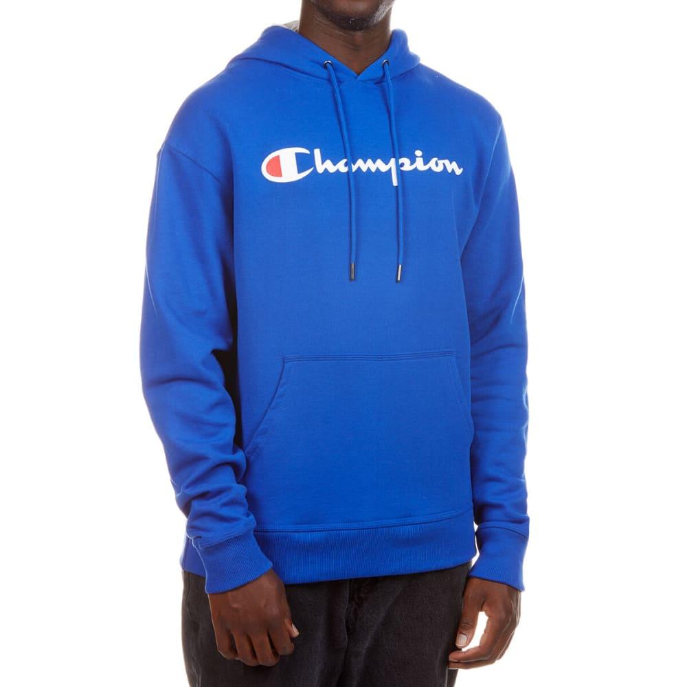 CHAMPION Men's Graphic Powerblend Fleece Hoodie L