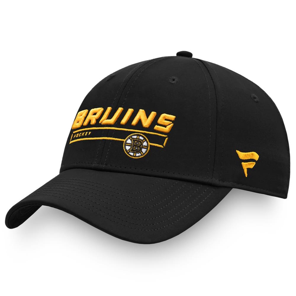 BOSTON BRUINS Men's Authentic Pro Rinkside Adjustable Hat ONE SIZE