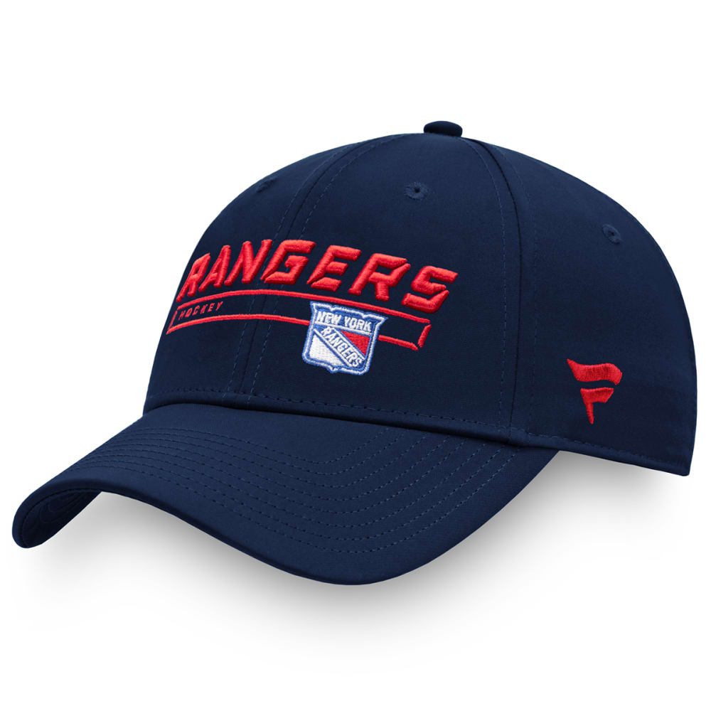 NEW YORK RANGERS Men's Authentic Pro Rinkside Adjustable Hat ONE SIZE