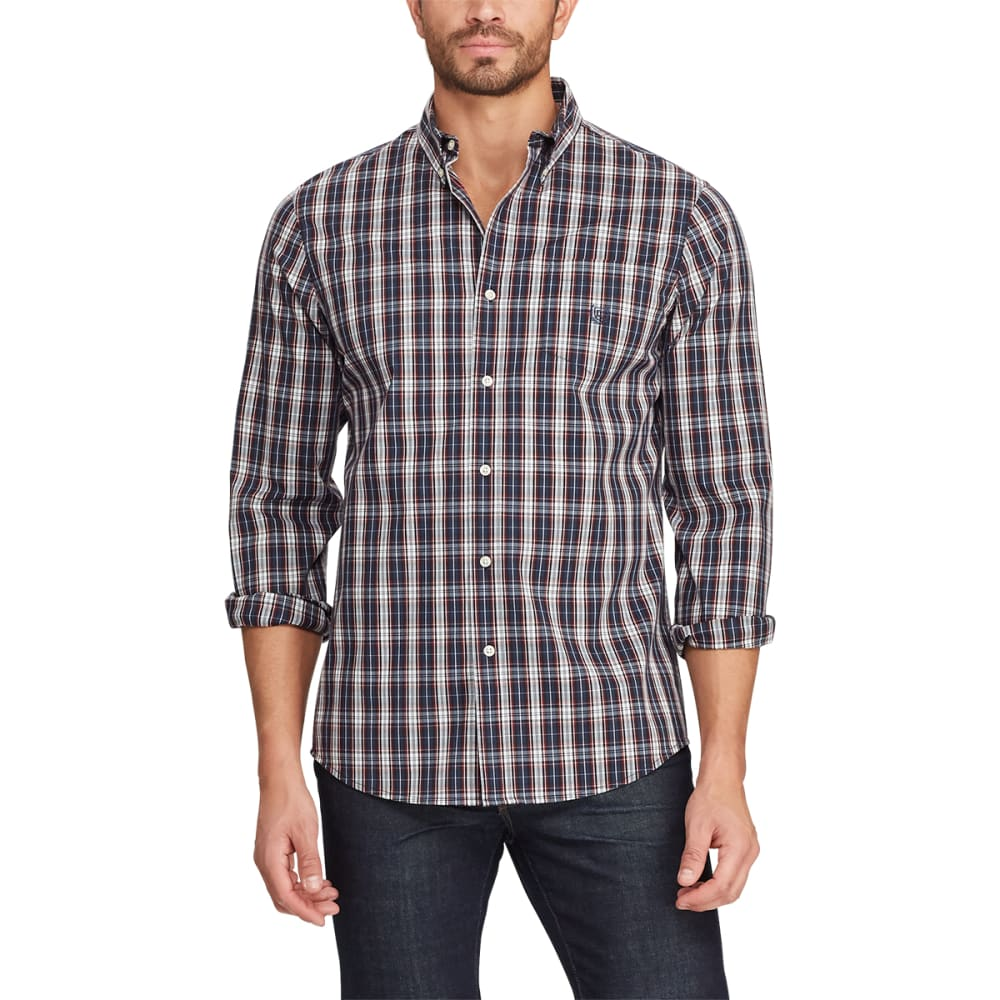 CHAPS Easy Care Stretch Long-Sleeve Button Down Shirt M