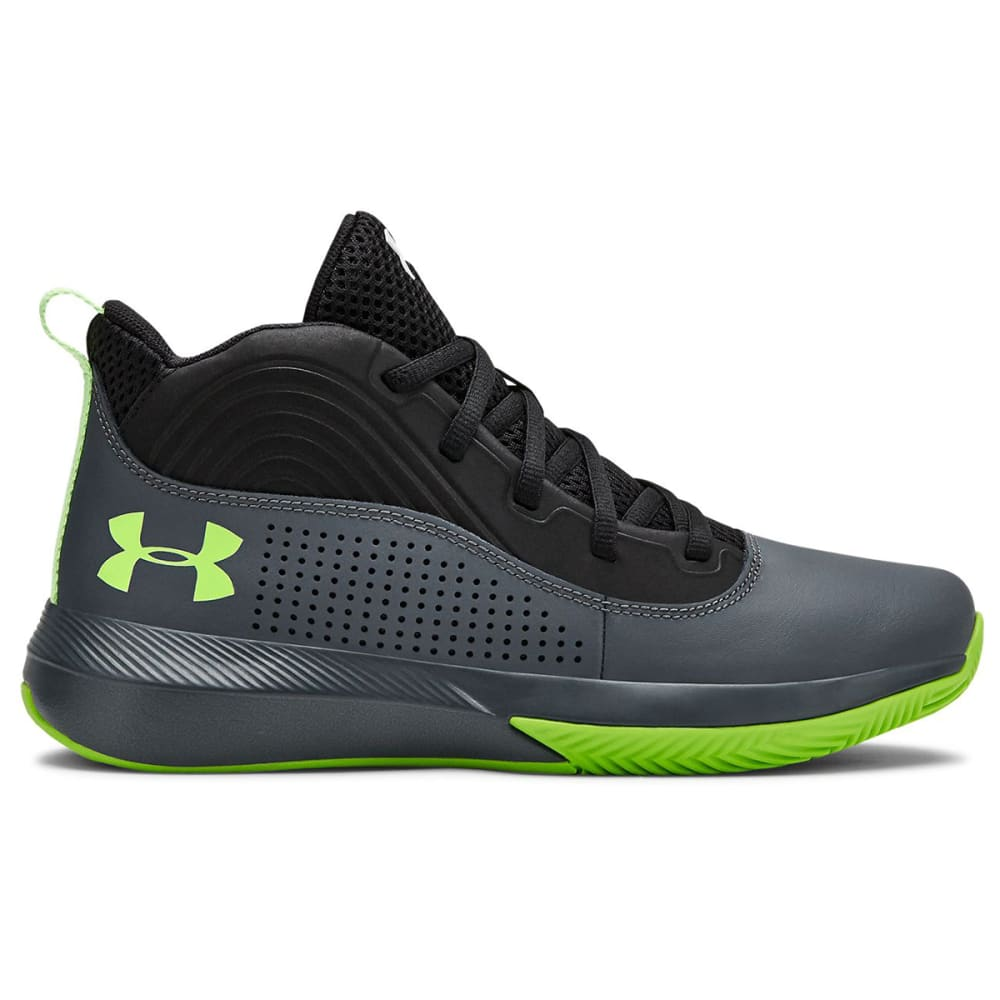 UNDER ARMOUR Boys' Lockdown Grade School Basketball Shoes 3.5