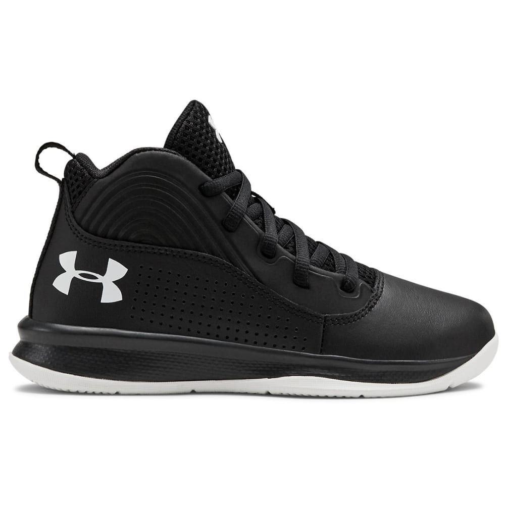 UNDER ARMOUR Little Boys' Lockdown 4 Preschool Basketball Shoes 1