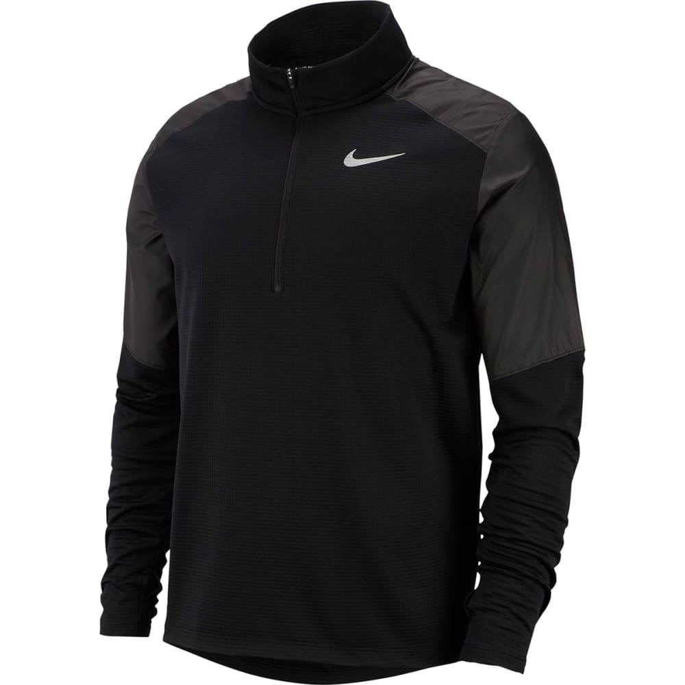 NIKE Men's Long-Sleeve Quarter Zip Pacer Top S