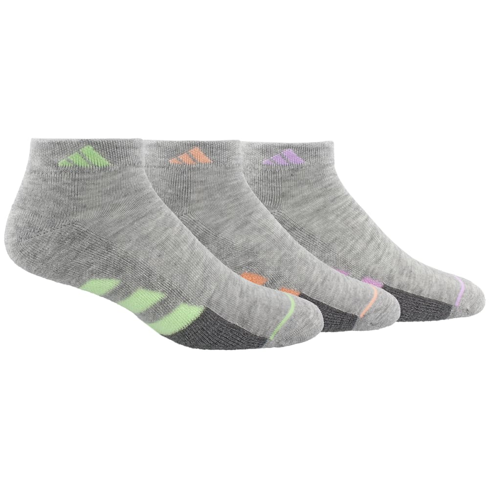 ADIDAS Women's Low Cut Athletic Socks, 3 Pack M