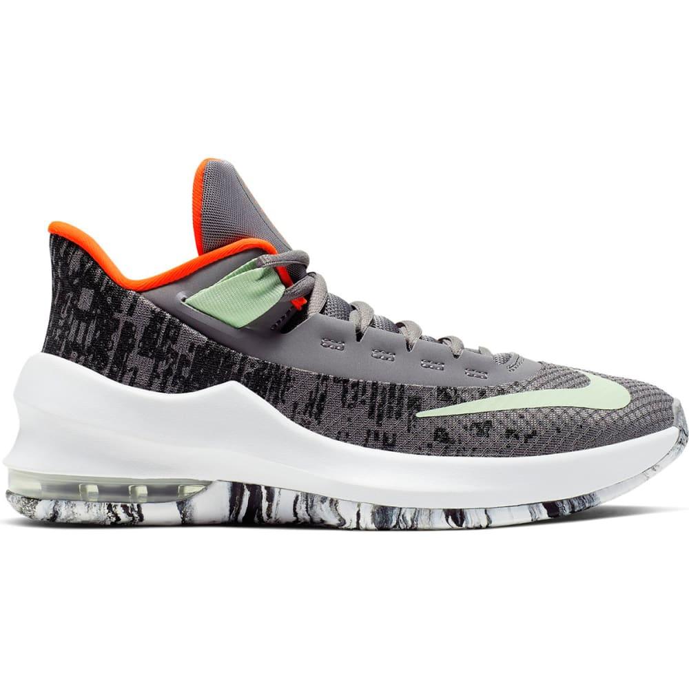 NIKE Boys' AIR Air Max Infuriate 2 Mid GS Basketball Shoes 3.5