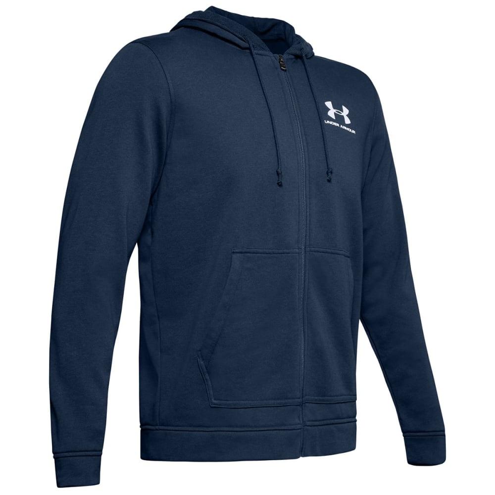 UNDER ARMOUR Men's Sportstyle Full-Zip Terry Fleece Hoodie S
