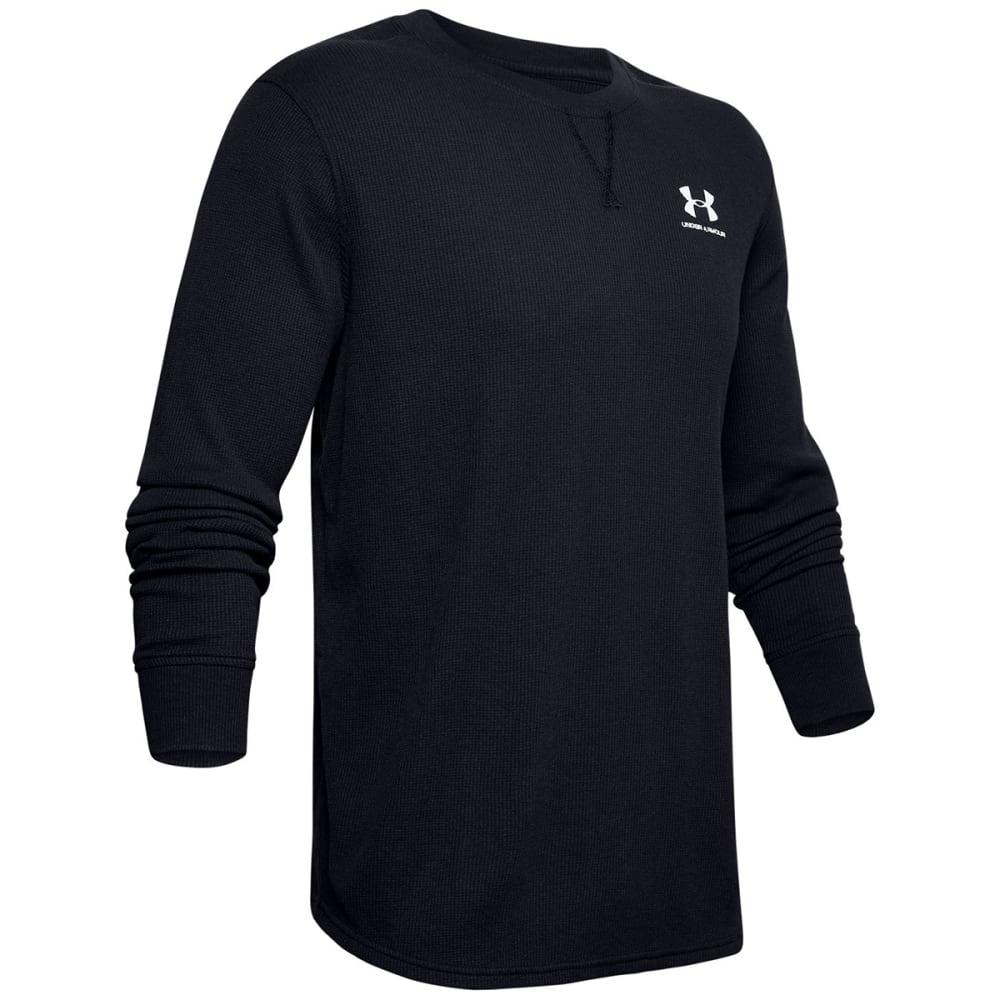 UNDER ARMOUR Men's Long-Sleeve Sportstyle Essential Texture Crewneck Shirt S