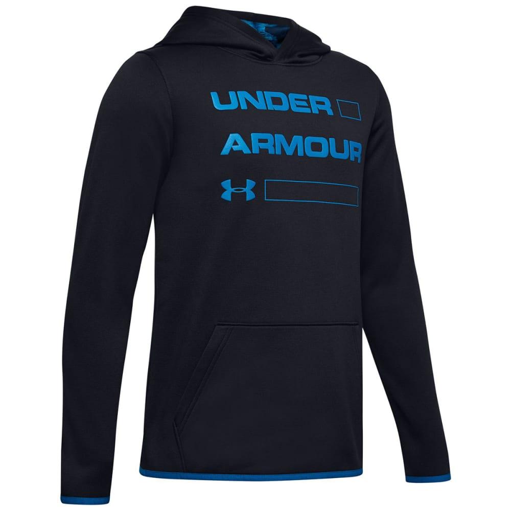 UNDER ARMOUR Boys' Fleece Wordmark Hoodie S