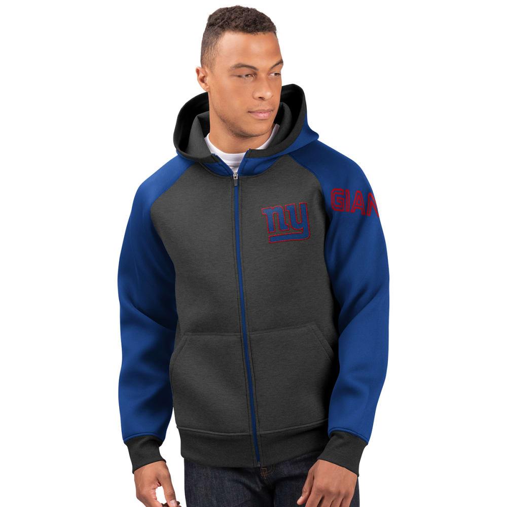 NEW YORK GIANTS Men's Wild Card Full Zip Hooded Jacket M