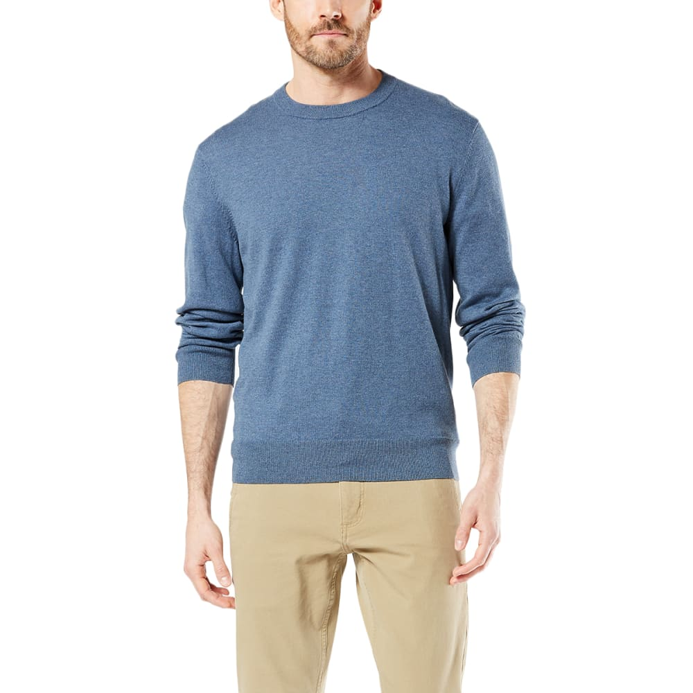 DOCKERS Men's Cotton Heather Crewneck Sweater XXL