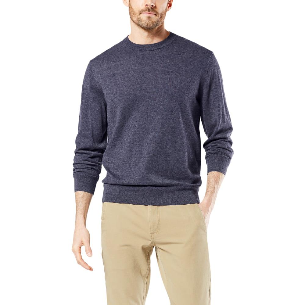 DOCKERS Men's Cotton Heather Crewneck Sweater M