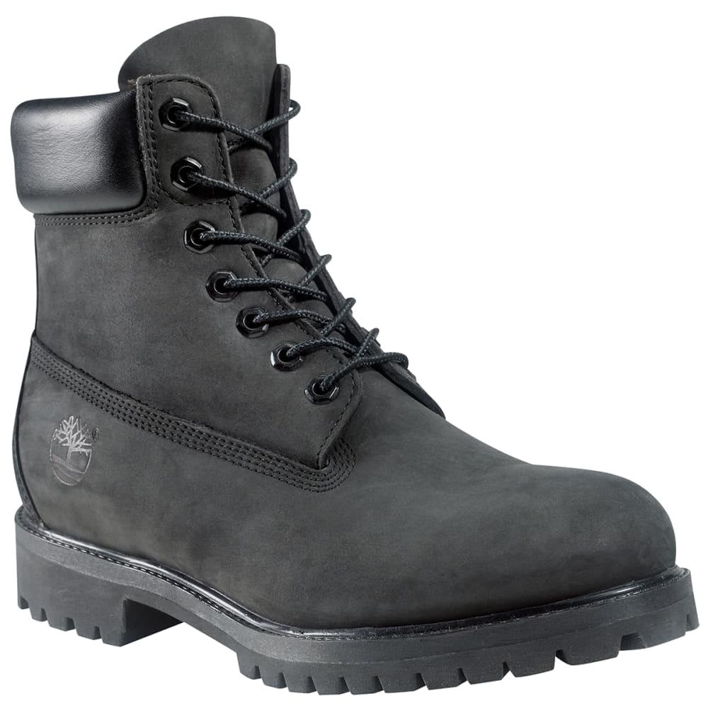 "Timberland Men's 6"" Premium Waterproof Boot - Black, 8"