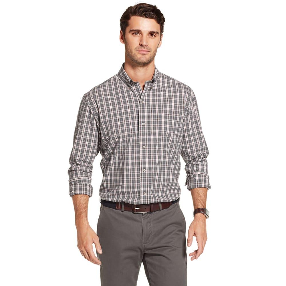 ARROW Men's Hamilton Wrinkle-Free Long-Sleeve Shirt M