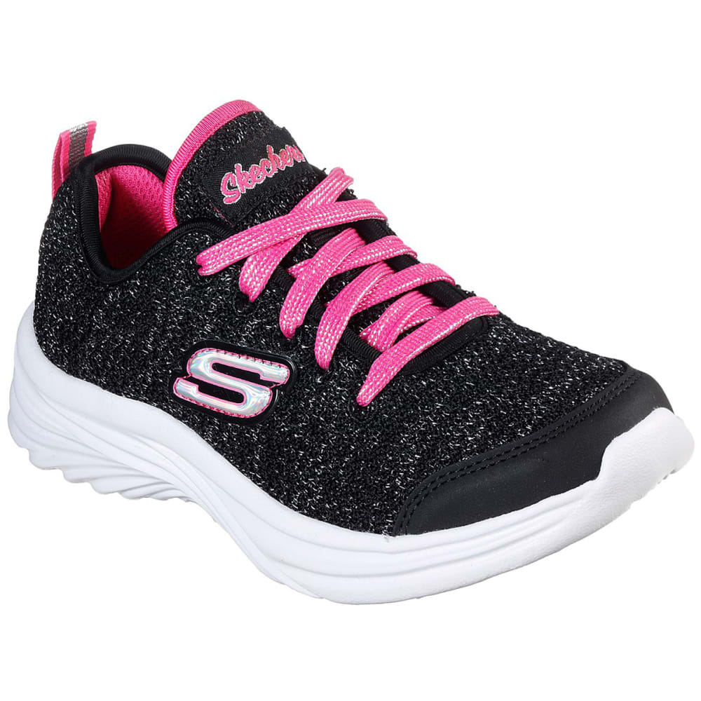 Skechers Girls' Dreamy Dancer Sneaker - Black, 11