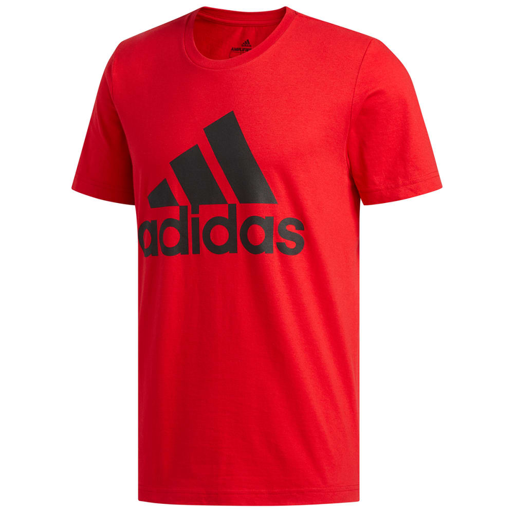 ADIDAS Men's Short-Sleeve Basic Badge of Sport Tee S