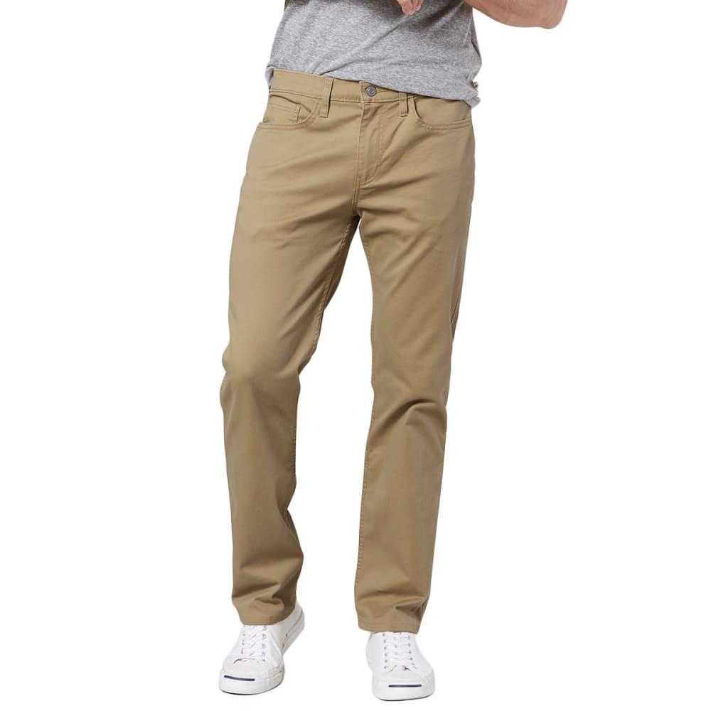 DOCKERS Men's Straight Cut 2.0 All Seasons Khaki Tech Pants 30/30