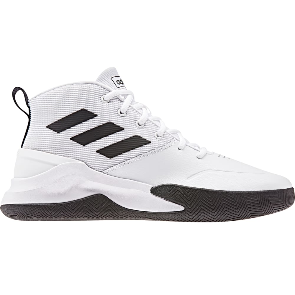 ADIDAS Men's Own the Game Basketball Shoes 10