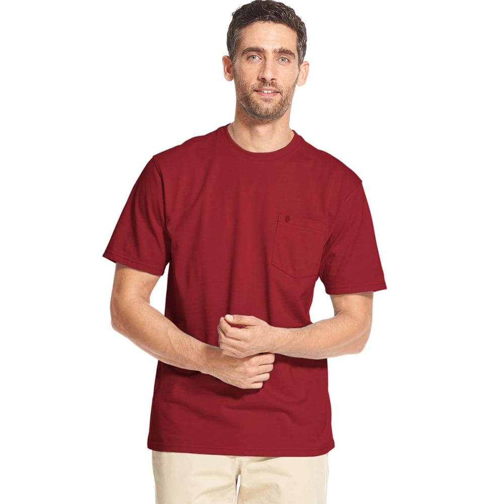 IZOD Men's Saltwater Pocket Short-Sleeve Tee - GLOSSY RED-647