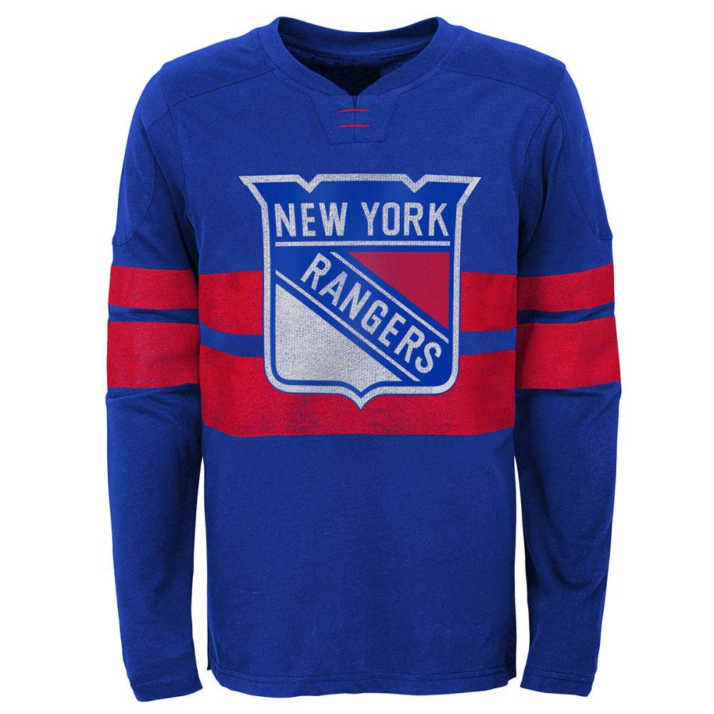 NEW YORK RANGERS Boys'  Long-Sleeve Tee M