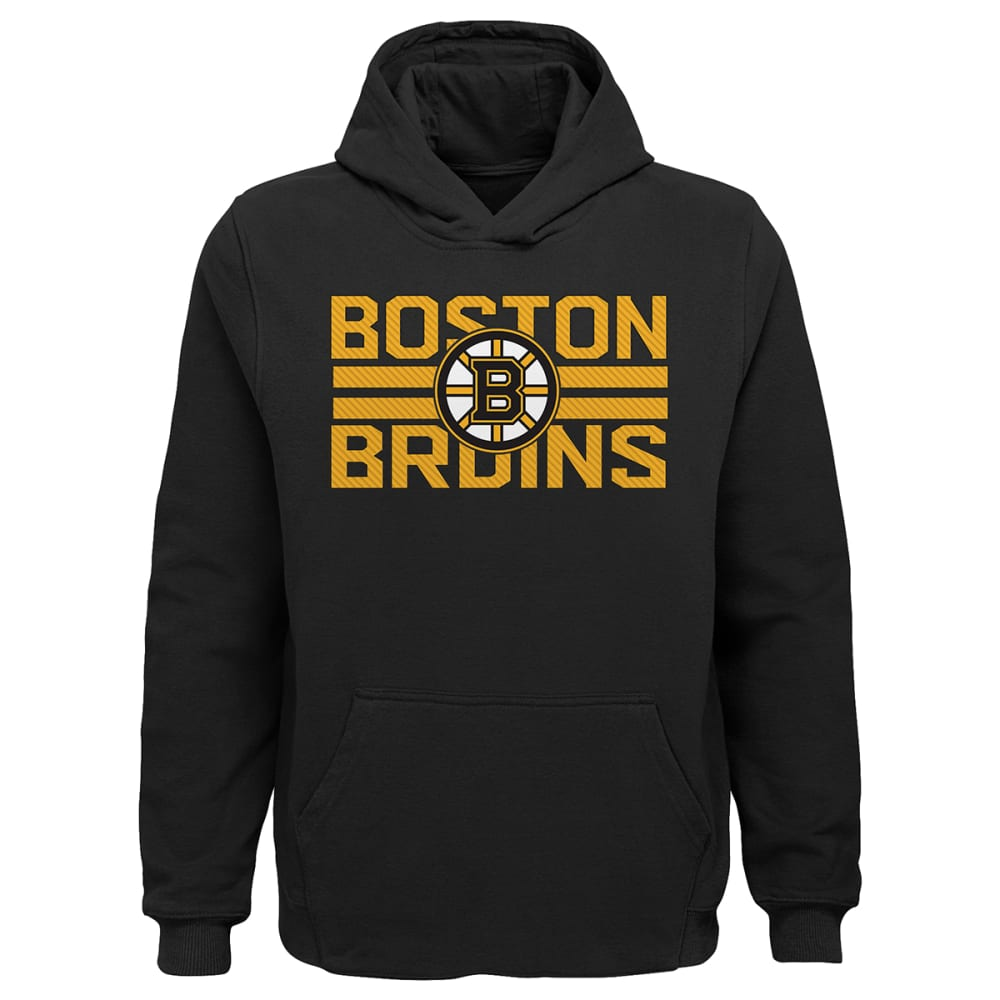 BOSTON BRUINS Boys' Standard Pullover Hoodie S