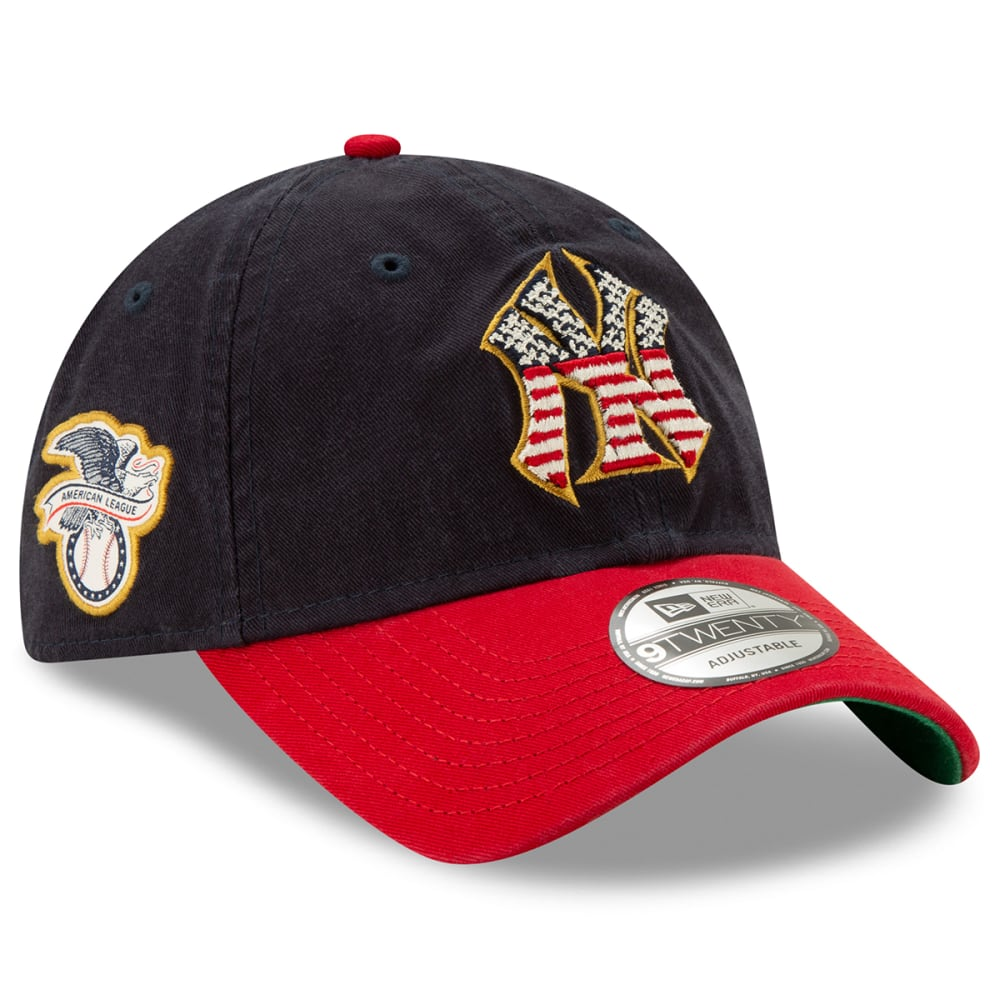 4eeabbe6 NEW YORK YANKEES Men's 2019 Stars & Stripes 4th of July 9TWENTY Adjustable  Hat