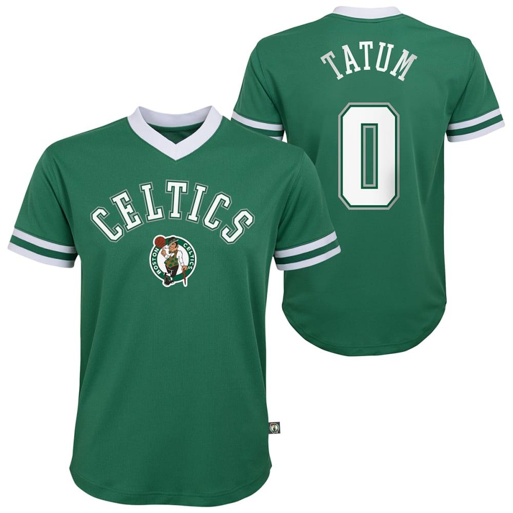 BOSTON CELTICS Boys' Tatum Name and Number Jersey S