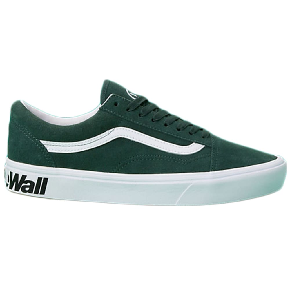 Vans Men's Distort Comfy Cush Old Skool Shoes - Green, 9