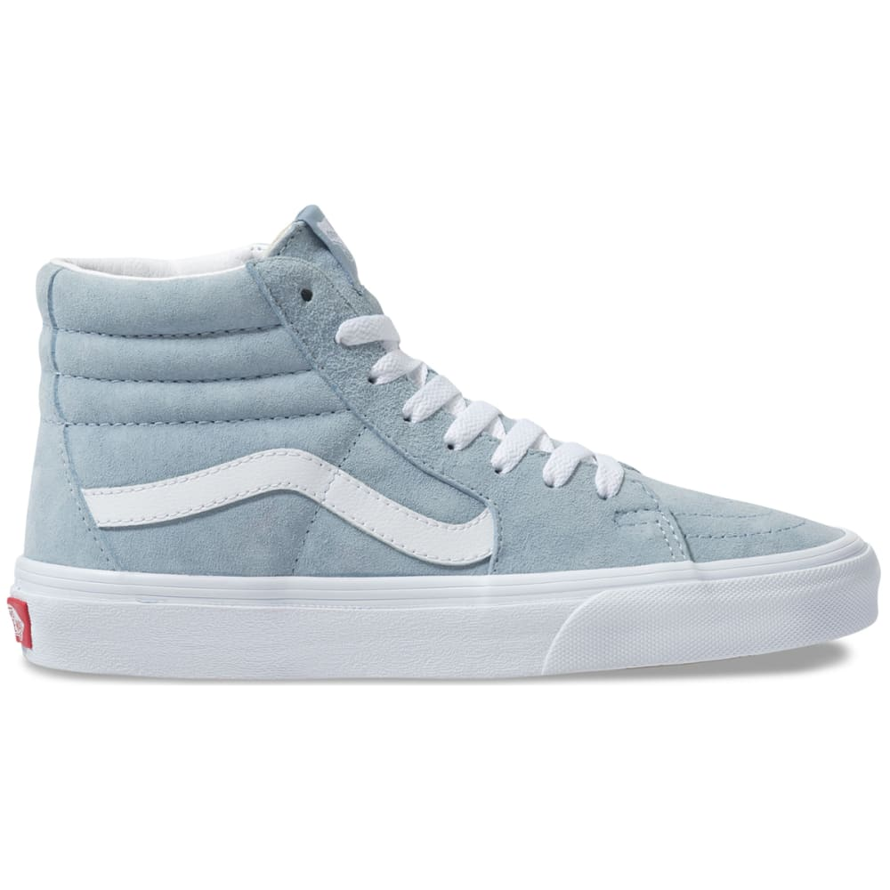 Vans Women's Pig Suede Sk8-Hi Shoes - Blue, 7